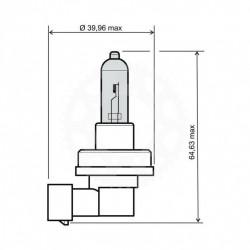 Žárovka H8 12V 35W