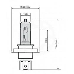 Žárovka HS1 12V 35/35W