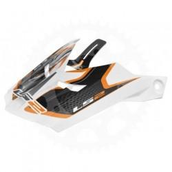 Náhradní kšilt MX456 Light Compass / Orange