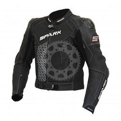 Pánská kožená moto bunda Spark ProComp velikost L