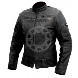 Dámská kožená moto bunda Spark Betty černá