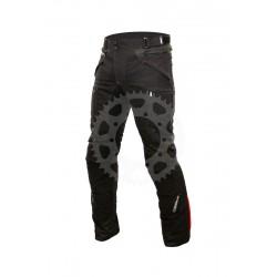 Pánské textilní moto kalhoty Spark Nautic, černé