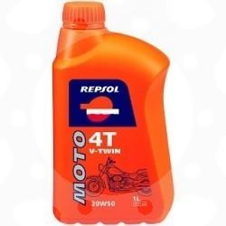 Olej Repsol MOTO V-TWIN 4T 20W50 1L