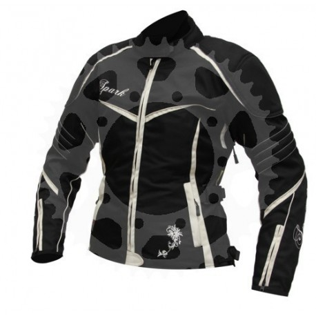 Dámská moto textilní bunda Spark Vintage vel.S,L