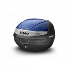 Vrchní kufr s barevným krytem SH29 modrá