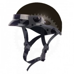 Chopper helma Braincap matt black