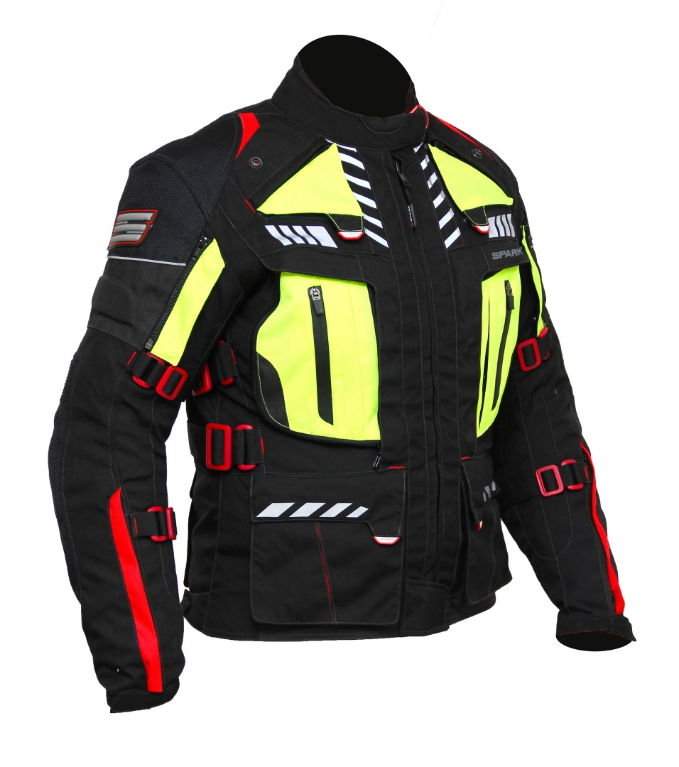 Dámská textilní moto bunda Spark Lady Expedition dede6542efc