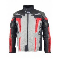 Cestovní textilní moto bunda Berik NJ10466-BK
