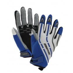 Textilní moto rukavice Spark Cross modré