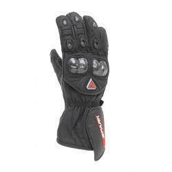 Kožené moto rukavice Spark Elite černé