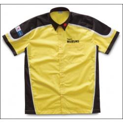 """Pánská košile Suzuki """"Team"""" žlutá"""