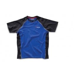 """Pánské triko Suzuki """"Team"""" černo-modré"""