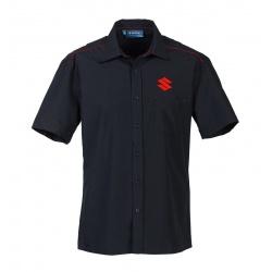 "Pánská košile Suzuki ""Team"" černá"