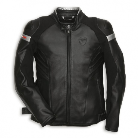 Pánská kožená moto bunda Ducati Dark Armour