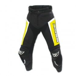 Kožené kalhoty Berik LP-10556-BK