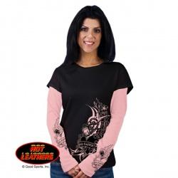 Dámské tričko Hot Leathers Tribal Heart