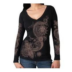 Dámské tričko Hot Leathers Lace Pattern