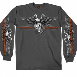 Pánské dlouhé tričko Hot Leathers Brotherhood Eagle