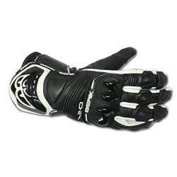Kožené moto rukavce Berik G-10579-BK