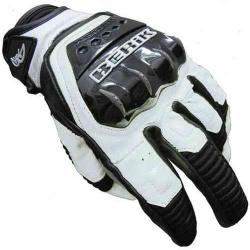 Kožené moto rukavice Berik G-10508-BK