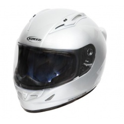 Moto helma Xpeed XF-705, stříbrná