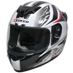Moto helma Xpeed XP-509 červená