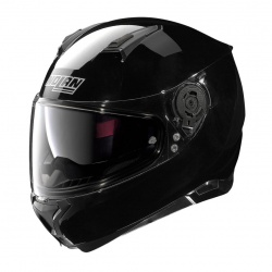 Moto helma N87 Classic N-Com Glossy Black 3