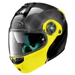 Moto helma X-Lite X-1004 Ultra Carbon Dyad Carbon Fluo Yellow 4