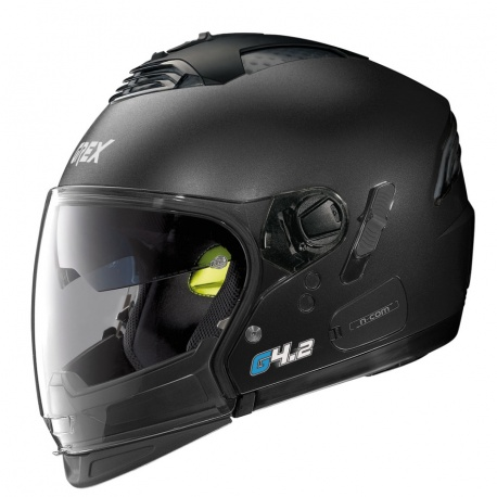 Moto helma Grex G4.2 PRO Kinetic N-Com Black Graphite 5