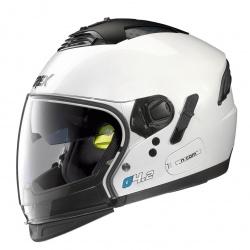 Moto helma Grex G4.2 PRO Kinetic N-Com Metal White 4