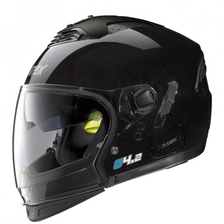 Moto helma Grex G4.2 PRO Kinetic N-Com Metal Black 1