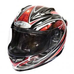 Moto helma Xpeed XF-706 Phoenix, červená