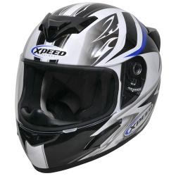 Moto helma Xpeed XP-509, modrá