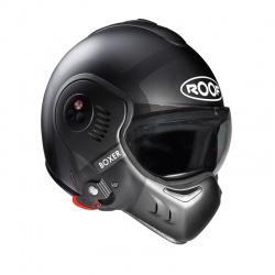Moto helma Roof Boxer V8 Bond Mat Titan Black