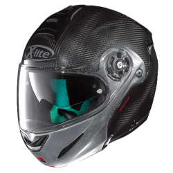 Moto helma X-Lite X-1003 Ultra Carbon Dyad Sratched Chrome 2