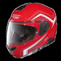 Moto helma Nolan N104 Absolute Como N-Com Corsa Red 46