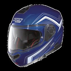 Moto helma Nolan N104 Absolute Como N-Com Cayman Blue 50