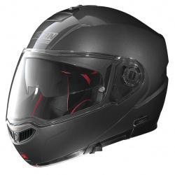Moto helma Nolan N104 Absolute Classic N-Com Lava Grey 4