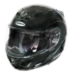 Moto helma Xpeed X-Tech, černá