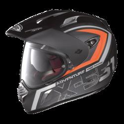 Moto helma X-Lite X-551 GT Adventure N-Com Flat Black 11