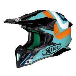 Moto helma X-Lite X-502 Best Trick Aquamarine 5