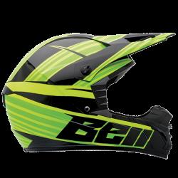 Moto helma BELL SX-1 Crusade Green