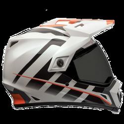 Moto helma Bell MX-9 Adventure Raid Orange/White