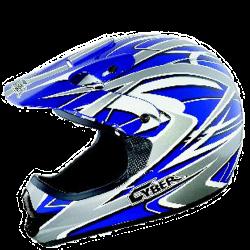 Moto helma Cyber UX-22 modrá