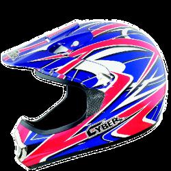 Moto helma Cyber UX-22 červeno-modrá