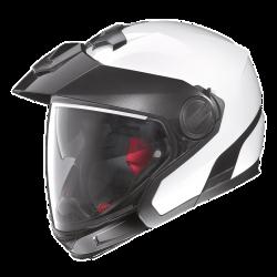 Moto helma Nolan N40 Full Special Plus N-Com Pure White 33