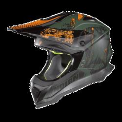 Moto helma Nolan N53 Cliffhanger Flat Military Green 26