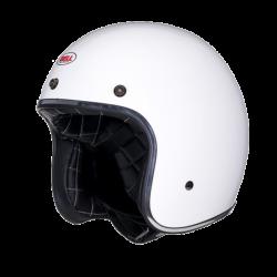 Moto helma BELL Custom 500 Solid Vintage White