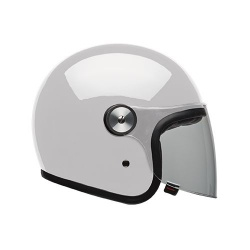 Moto helma Bell Riot Solid White