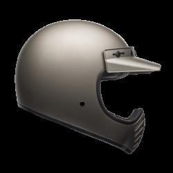 Moto helma Bell Moto-3 Independent Matte Titanium
